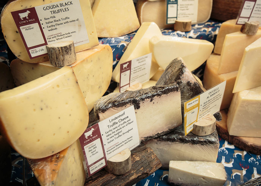 Fromagination has a great selection of artisan cheeses
