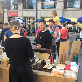 Fromagination at the Madison Night Marke