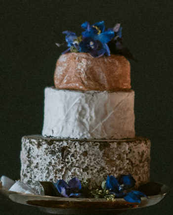 Fromagination features the French Tricolore Cake of Cheese