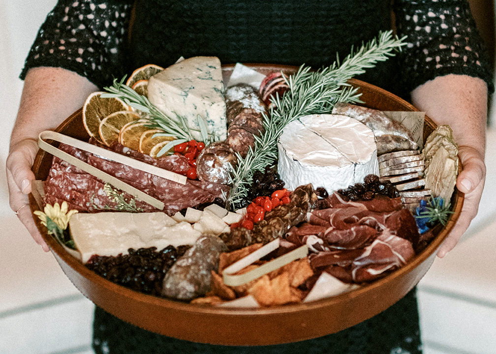 Fromagination features artisan cheese and charcuterie trays