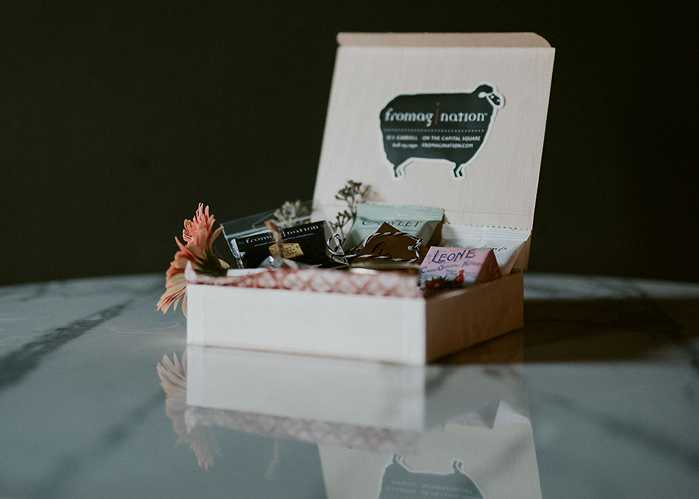 Wedding party gifts archives fromagination fromagination features the sweet surprise gift box junglespirit Image collections