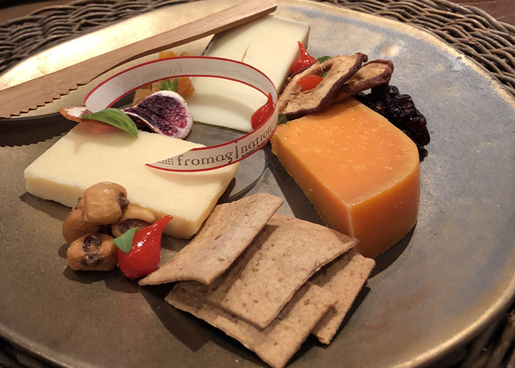 Fromagination features in-shop cheese plates for artisan cheese lovers!