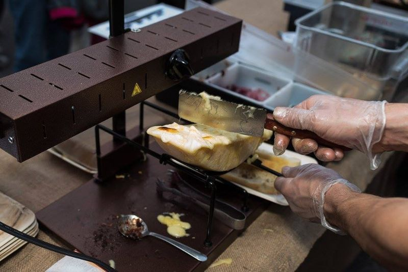 Fromagination's Raclette lunch is a genuine Swiss experience.