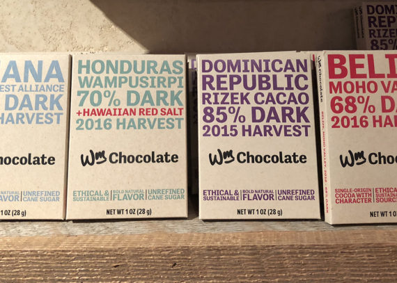 wm. chocolate bars are sold at Fromagination