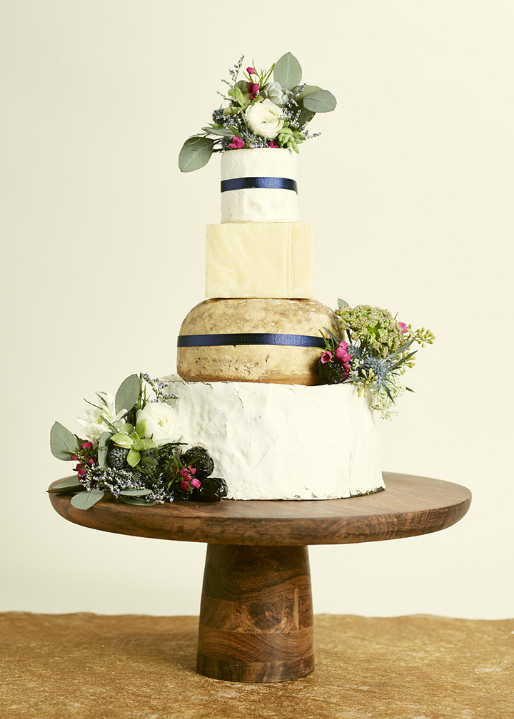Fromagination features the Wedding Bells Cake of Cheese!