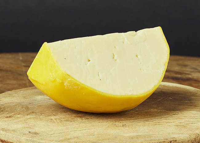 This is a picture of Caso Bolo cheese, featured at Fromagination