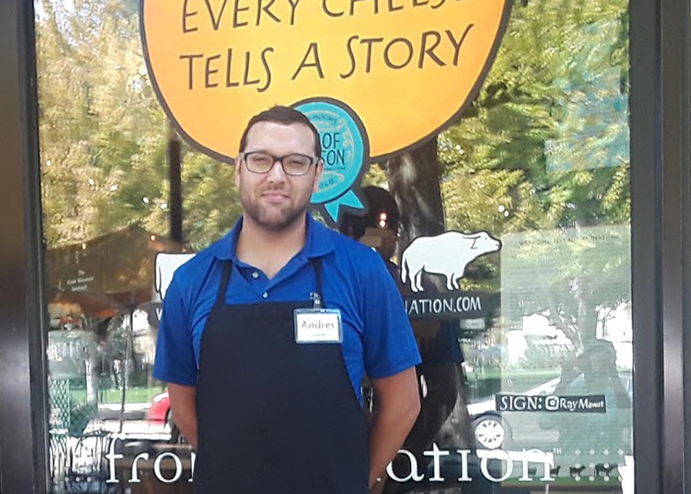 Andres Becomes a Cheesemaster at Fromagination