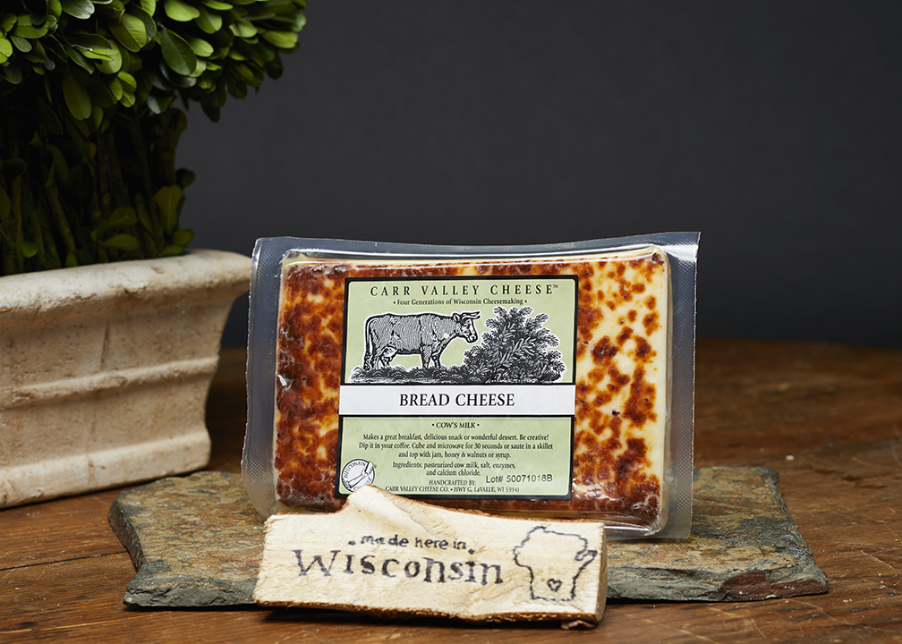 Fromagination features Bread cheese
