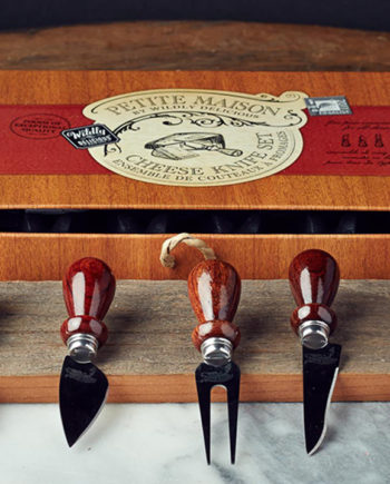 Petit Maison Cheese Knife Set