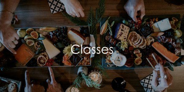 Classes Landing Page