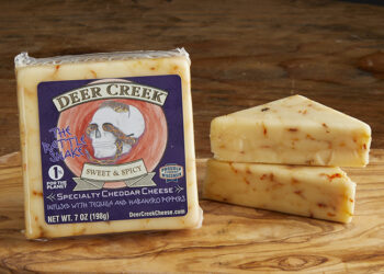 This is a picture of Rattle Snake cheese.