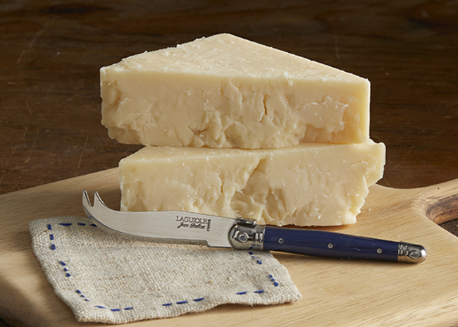 This is a picture of Triple Play cheese, featured by Fromagination.