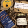 Fromagination's International Cheddar Sampler includes cheddar cheeses from Vermont, Ireland & England