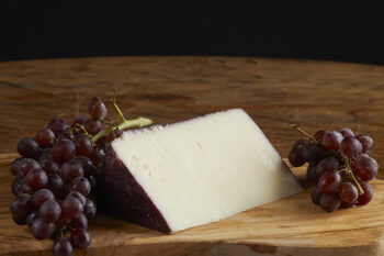 This is a picture of Porto Duet cheese, featured by Fromagination