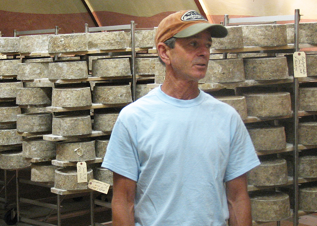 Willi Lehner of Bleu Mont Dairy