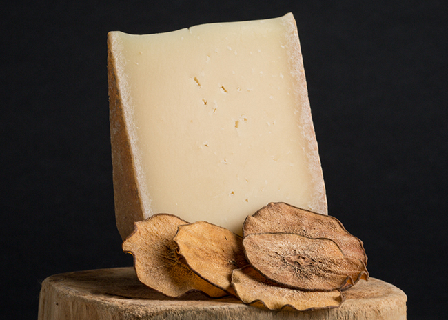 This is a picture of Anabasque cheese, featured at Fromagination.