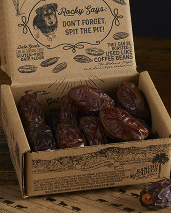 This is a picture of California dates.