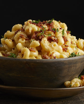 This is a picture of Fromagination's Macaroni & Cheese entree.