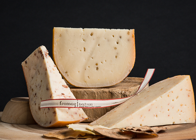 This is a picture of Marieke Gouda trio.
