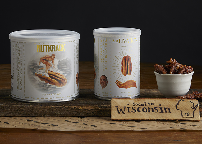 This is a picture of Nutkrack Caramelized Pecans.