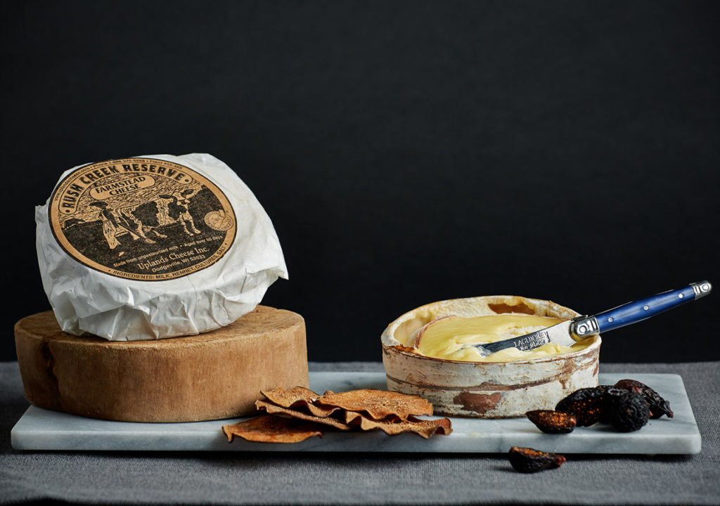 This is a picture of Rush Creek Reserve cheese.