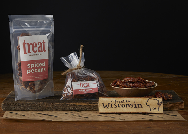 This is a picture of Treat Spiced Pecans.