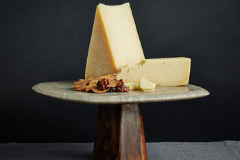 This is a picture of Sarvecchio cheese, featured by Fromagination
