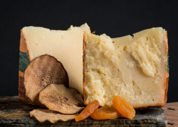 This is a picture of Gran Cru Surchoix cheese.