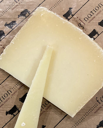 This is a picture of Ms. J and Company Mixed-Milk Manchego-style cheese.