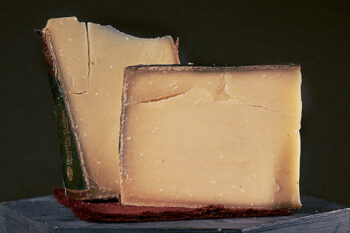 This is a picture of Grand Cru Suroix cheese, featured at Fromagination