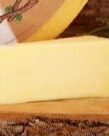 This is a picture of The Stag Cheddar cheese, featured by Fromagination