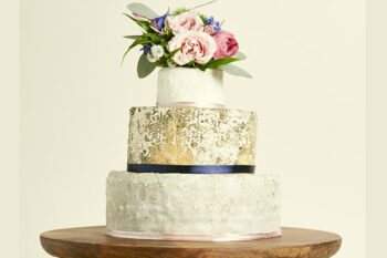 This is a picture of the Blue Horizons Cake of Cheese from Fromagination.