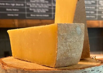 This is a picture of Crown Jewel cheese, featured at Fromagination