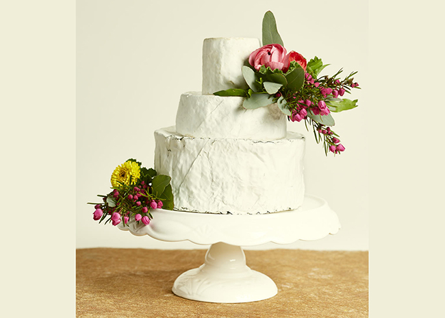 This is a picture of the Green Lake Cake of Cheese from Fromagination.