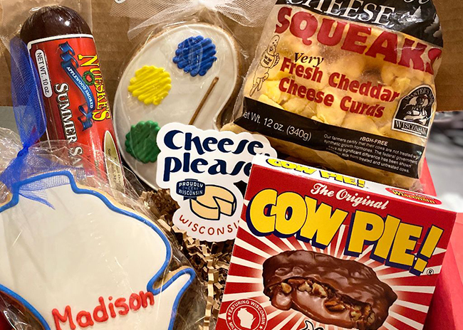 This is a picture of Fromagination's Student Care Package for 2020 autumn returning students