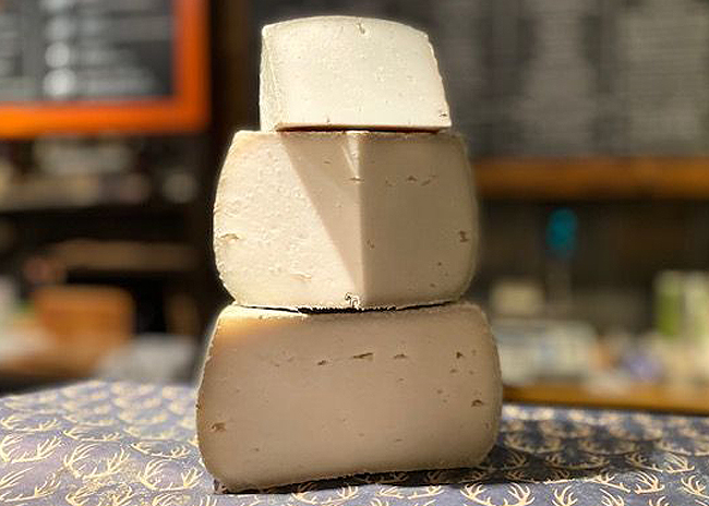 This is a picture of St. Germain cheese, featured at Fromagination