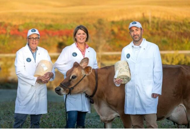 This is an image of the St. Isidore's Dairy team.
