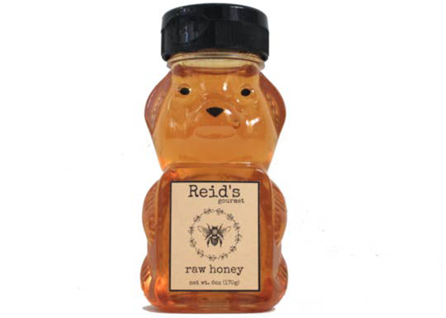 This is a picture of a six-ounce honey bear container, offered by Fromagination