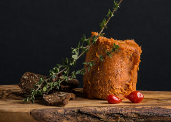 This is a picture of 'nduja spreadable salami, featured at Fromagination.