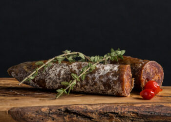 This is a picture of Spanish Chorizo, featured at Fromagination