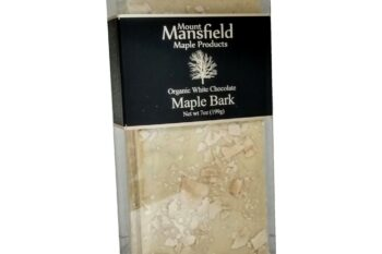This is an image of white chocolate maple bark.