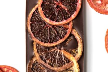 This is an image of the Blood Orange Bar surrounded by blood oranges.