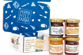 This is a picture of jam from Jasper Hill Farm, featured by Fromagination