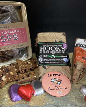 This is a picture of Fromagination's Lovers' Lane Gift Set