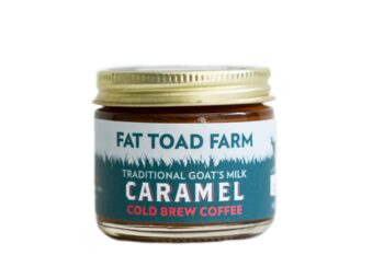 This is an image of Fat Toad Farm's Goat Milk Caramel.