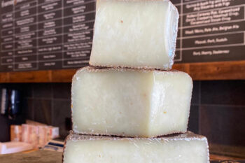 This is a picture of Rebel Miel cheese, featured at Fromagination
