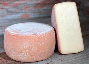 This is a picture of King's Ransom cheese, featured at Fromagination.