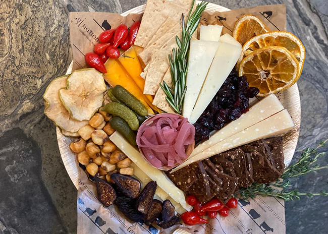This is a picture of Fromagination's Father's Day Cheese Tray