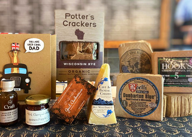 This is a picture of Fromagination's Father's Day Gift Set
