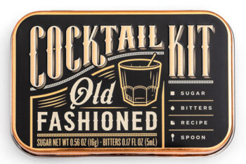 This is a picture of the Old Fashioned Cocktail Kit, offered by Fromagination.